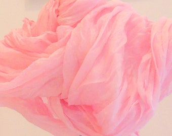 Cotton Scarf,Pink Cotton Scarf,Extra long cotton scarf,Beach Sarong,Summer Scarves,Womens Gifts