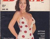 Mara Corday- 1950s Vintage Bold Magazine- June 1955- Bettie Page- Why Stars Strip- Cheesecake- 50s Pin Ups- Swimsuit Models- Paper Ephemera
