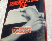 The Pencourt File Hardcover Book  - 1978 w/Jacket Dust Cover