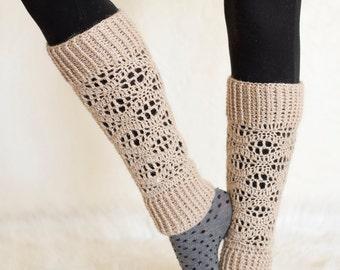Girl's Leg Warmers Crochet Pattern - Crochet Leg Warmers Pattern - Woman's Leg Warmers Crochet Pattern - Leg Warmers Crochet Pattern
