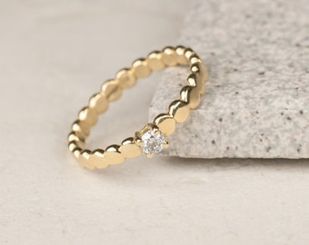 Diamond ring - engagement ring - diamond engagement ring - 18ct gold ring - white gold diamond ring - gold diamond ring - promise ring
