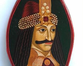 Dracula - Vlad Tepes  Prince of Wallachia (Transilvania,Romania)- gifts for writers, English literature, Gothic, writer Bram Stoker