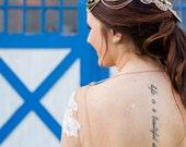Boho Headpiece Head chain Rhinestone OOAK Bridal Bohemian Crown Hair Jewelry Wedding Dazzling Gold Hippie Egyptian