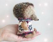 Teddy Hedgehog Sam - 5inches