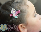 Dreamcatcher Hair Clip, Badge Reel, Planner Accessory, or Book Mark - Meet Miss Dreamie