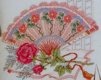 Cross Stitch Pattern | MILADY'S FAN | fam
