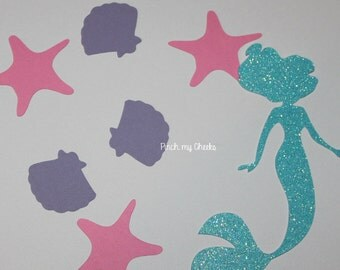 Mermaid Confetti perfect for your Little Mermaid Party Mermaid party Lets be Mermaids Party