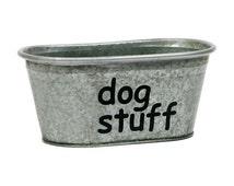 Dog Stuff Pet Storage Bucket