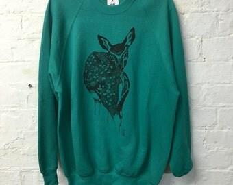 Deer Jumper - Green