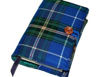 Large Bible Cover in Nova Scotia Wool Tartan, Canadian Tartan Book Cover, UK Seller,