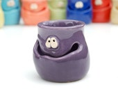 THE GRINNIN' IDGIT - purple - a Very Silly Egg Separator for the Cook Who Has Everything