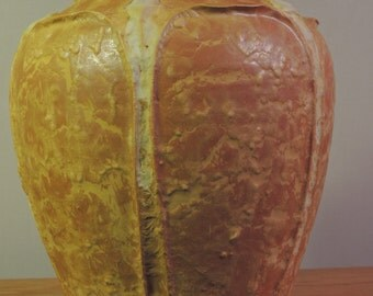 Grueby Style Arts and Crafts Studio Vase