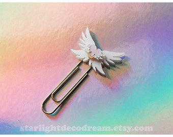 Sailor Moon Eternal Moon Article Bookmark Paperclip for Magical Girl, Mahou Kei, Planner Charm