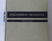 vintage textbook, Engineering Mechanics, 1954, from Diz Has Neat Stuff