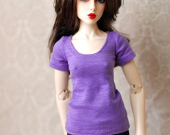 BJD Clothes Purple Top For SD Feeple 60