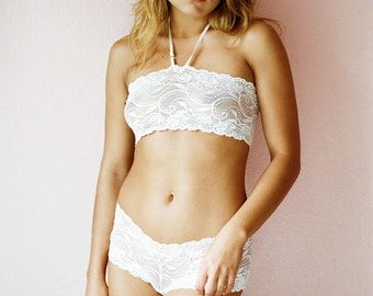 White Dahlia Cheeky Panty