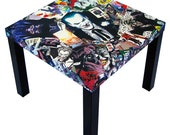 Joker Comic Collage Table