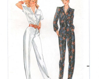 Willi Smith jumpsuit pattern -- Quick! Butterick 6680