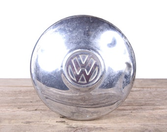 Vintage VW Hubcap / Old Volkswagen Hubcap / Rusted VW Bug Hubcaps / VW Decor / Volkswagen Decor / Automotive Decor / Garage Decorations