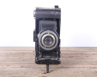 Vintage Kodak Kodek No 1 Camera / Antique Folding Kodak Camera / Old Kodak Camera / Retro Camera / Display Prop Decor Collectible Camera