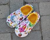 Shopkins Children's Non skid Slippers