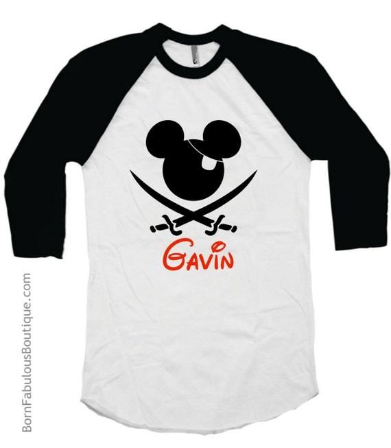 Boys Disney Pirate Cruise Shirt Family Vacation Shirts