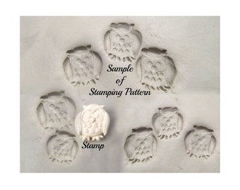 Handmade Bisque Stamps Ceramic Tools Amp Silicone Molds By
