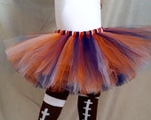 Orange Navy Blue Tutu,  Chicago Bears, Denver Broncos, Sports Tutu, Football Tutu, babies, toddlers, girls