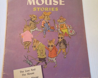 1944 Children's Book....Famous Mouse Stories