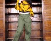Vtg Military Style Pants