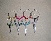 Colors of the Wind Wine Glass Charms (Set of 8)