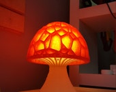 Mushroom Lamp 3D Printed Hippy Lava Table Lamp