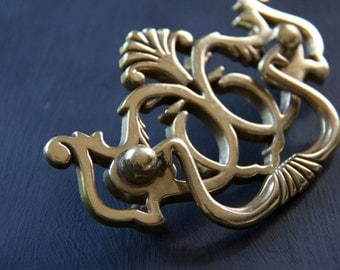 Vintage Chippendle Federalist Bail Drawer Pull Cabinet Handle