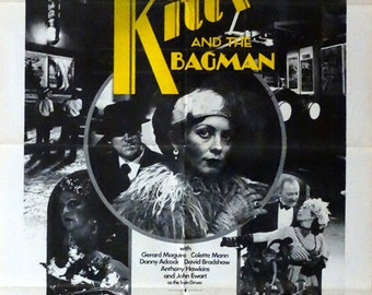 "Kitty and the Bagman. 1983 Original 27"" x 41"" US Theater Movie Poster. Crime Action Movie with Liddy Clark,John Stanton,Val Lehman"