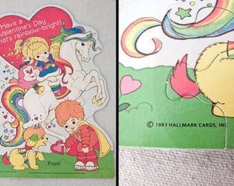 Rainbow BRITE Puzzle 1983 Hallmark Valentine's Day Toy Jigsaw Puzzles