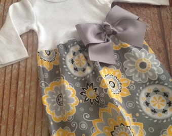 Newborn Layette, Infant Gown, Baby Gown