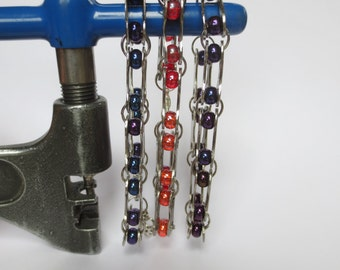 Bicycle Jewelry , Bicycle Chain Link and Bead Bracelets , Sports , Bikes , Bicycle Accessories