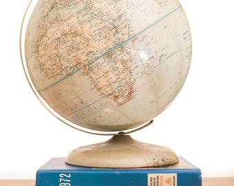 "1970s Rand McNally Political 12"" Globe"