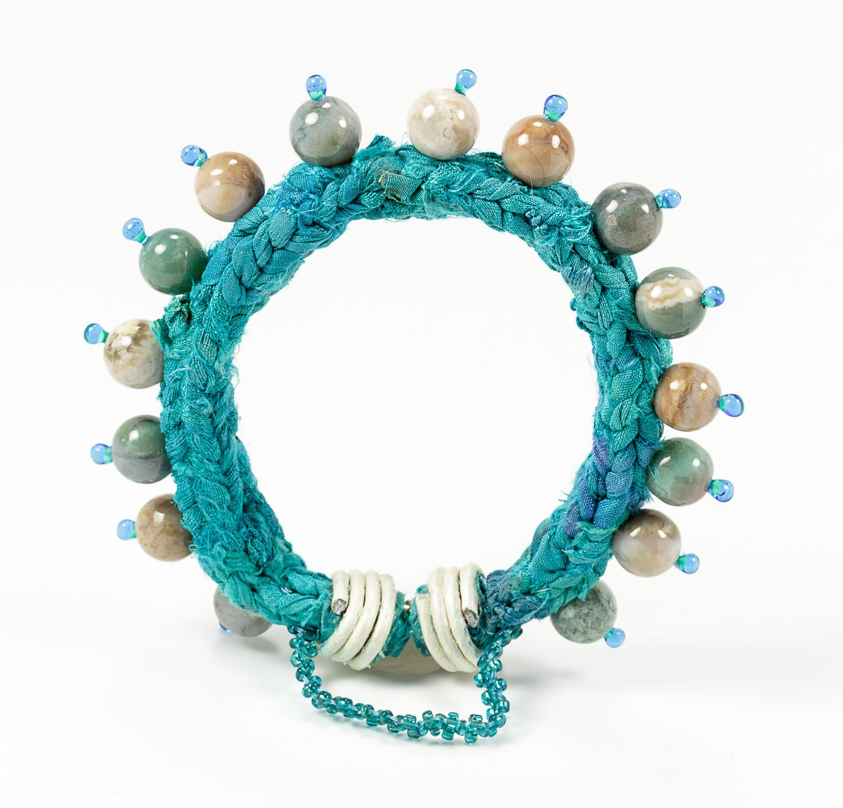 fashion jewelry ethnic bead bracelet by thestudioelle