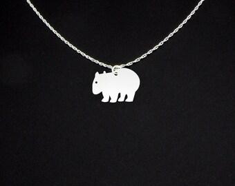 Wombat Necklace - Wombat Jewelry - Wombat Gift