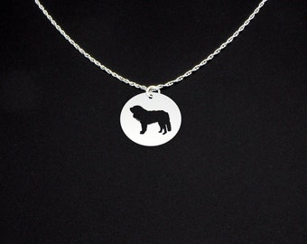 Pyrenean Mastiff Necklace - Pyrenean Mastiff Jewelry - Pyrenean Mastiff Gift