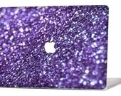 PURPLE GLIMMER MacBook Decal Macbook Stickers Macbook Skin Macbook Case Macbook Pro Cover Laptop Stickers Laptop Skin Laptop Decal Case