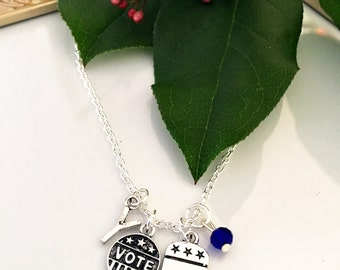 Personalized Republican Necklace