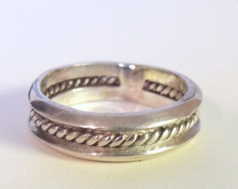 Sterling Man's Ring Size 11 1/2
