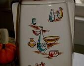 Stanford Sebring O Eames Era Mid Century Cookie Jar