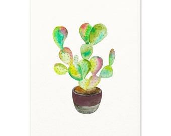 """Shop """"cactus print"""" in Painting"""