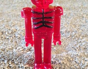 SEA-BORG MUTATION  Wave 2 Plastic Resin Figure - red crabbot