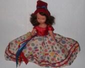 Storybook Doll, Nancy Ann, NEW YEAR A January Merry Maid, MIB w tag