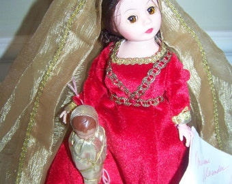 Madonna and Child Madame Alexander 10 inch doll Christmas