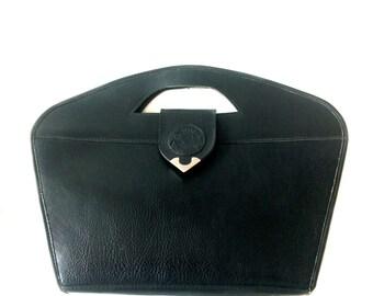 Vynil handbag // 90s